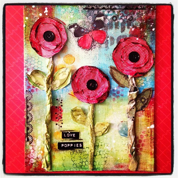 Love poppies <3 by Isabelle Naud