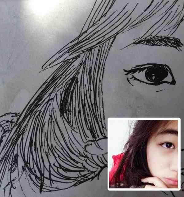 Braid lover | Female sketch, Painting, Art