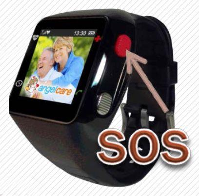 Dispositivo móvil angelcare Reloj teléfono GPS localizador de última generación.  Consúltanos para ver sus prestaciones. http://www.ortopediaenlinea.com/Contacto