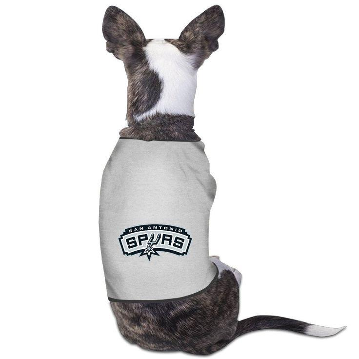 San Antonio Spurs Texas 2016 Basketball Logo Dog Coats * See this great image  : Dog Cold Weather Coats