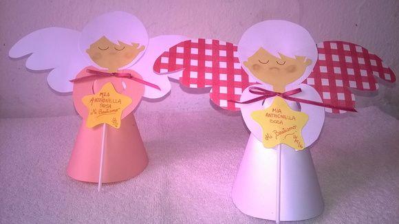 Souvenirs Angelito para Bautismo