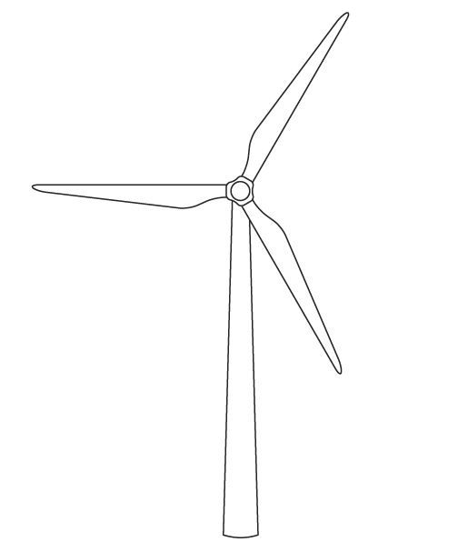Tutorial: Create a vector wind turbine icon | turnpixel