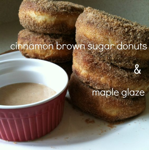 Cinnamon Brown Sugar Donut Recipe on Little Miss Momma