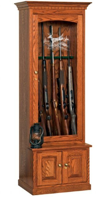 11 best Gun Cabinets images on Pinterest | Gun cabinets, Solid oak ...