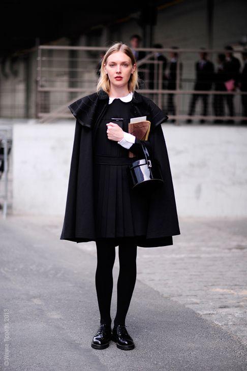 Cape coat styles celebrity
