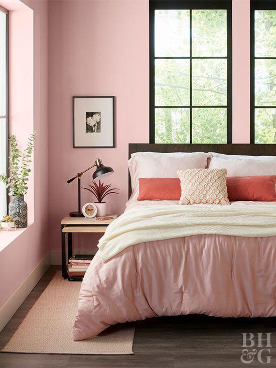 Standout Bedroom Paint Color Ideas For A Space That S Uniquely Yours Best Bedroom Paint Colors Pink Bedroom Decor Bedroom Paint Colors
