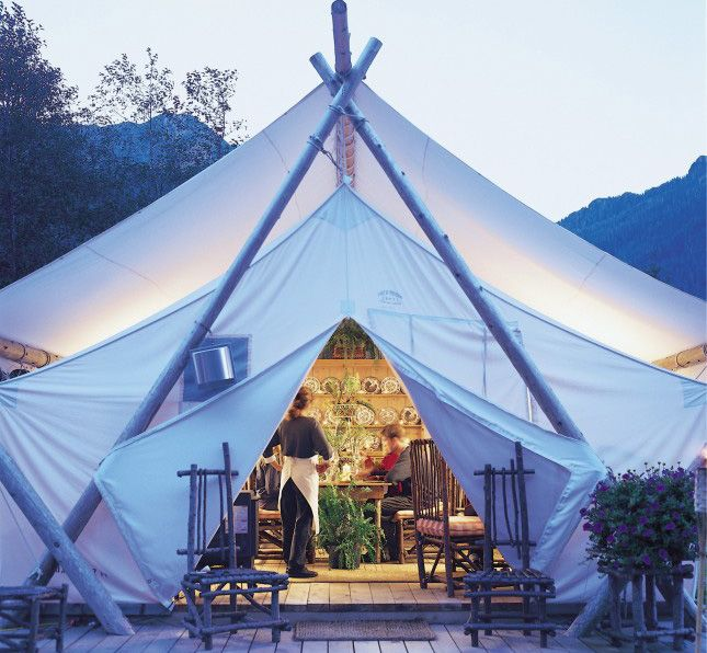 How gorgeous is this glamping resort?