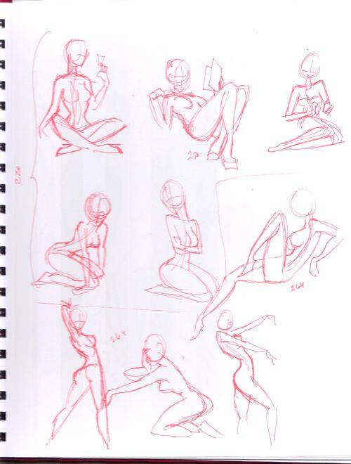 Posejack Me: Pinup Poses by Havanachan.deviantart.com on @deviantART