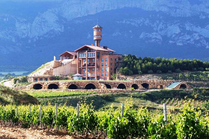 Winery hotel in Rioja To learn more about #Bilbao | #Rioja, click here: http://www.greatwinecapitals.com/capitals/bilbao-rioja