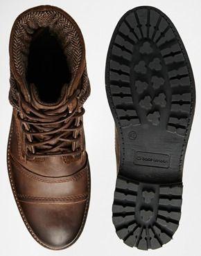 Ingrandisci Base London - Scott - Stivali di pelle