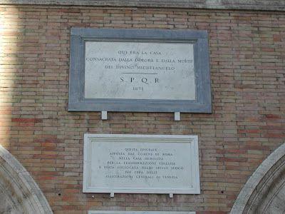 La casa (scomparsa) di Michelangelo a Roma.  Il Blog di Fabrizio Falconi: La casa (scomparsa) di Michelangelo a Roma.
