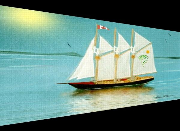 """SmudgeArt's Digital Art Creation """"Homeward Bound"""""""