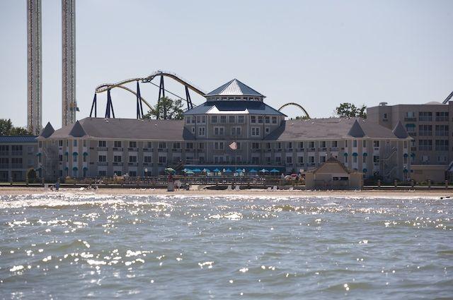cedar+point+breakers+hotel | Cedar Point from the Willow II