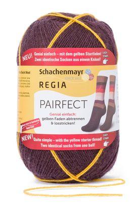 Wie stricke ich identische Socken mit REGIA Pairfect? REGIA Pairfect wurde entwickelt, um zwei identische Socken aus einem Knäuel stricken zu können. Damit dies auch wirklich funktioniert, ist es wichtig, die folgenden Schritte zu beachten.