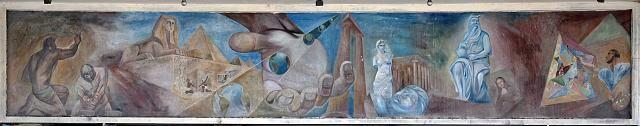 Mural located on building in Havana, Cuba (Carol M. Highsmith, photographer)