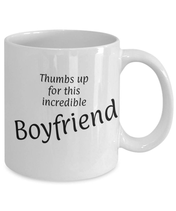Sweetheart, Partner, Thumbs up for this Boyfriend, Fun coffee mug, Christmas gift for Boyfriend, Boyfriend appreciation mug, Gift for him by expodesigns on Etsy