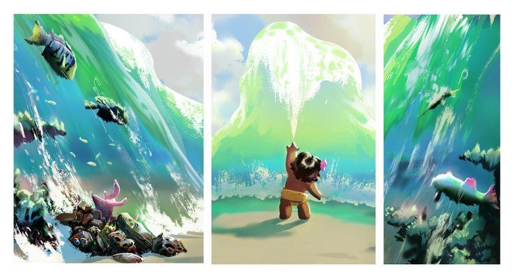 Disney's Moana Fan art