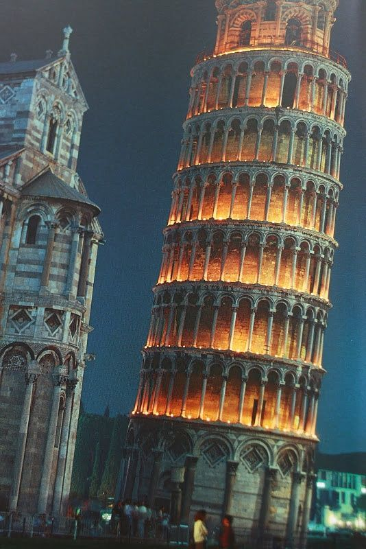 The Leaning Tower of Pisa, Italy: