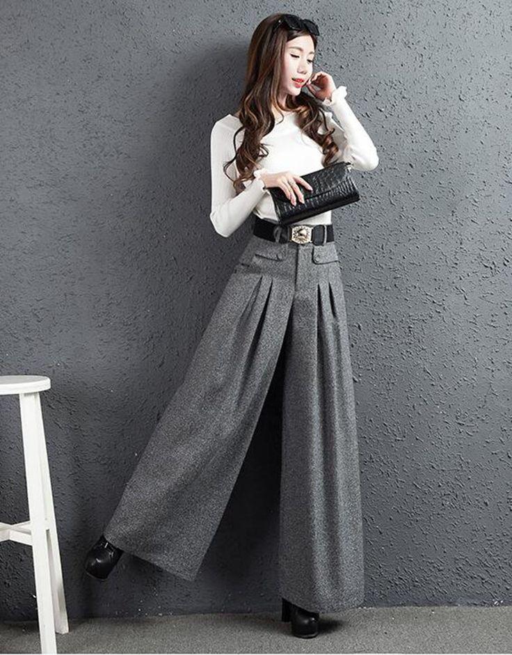 韓国ファッション 新作OL通勤 ゆるパンツで作る大人ツイルリラックスパンツ/レディース いパンツ ボトムス カジュアル きれいめ 九分ハイウエスト 美脚美尻 ズボン