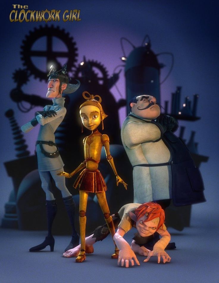 The Clockwork Girl (2010) A nameless robot girl has