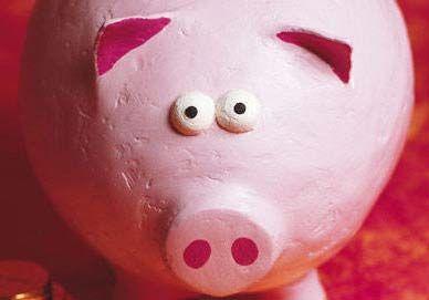 Tirelire cochon en plâtre, Tuto pour fabriquer - Loisirs créatifs