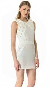 "IRO ""Del"" Dress - white hot and party perfect!"