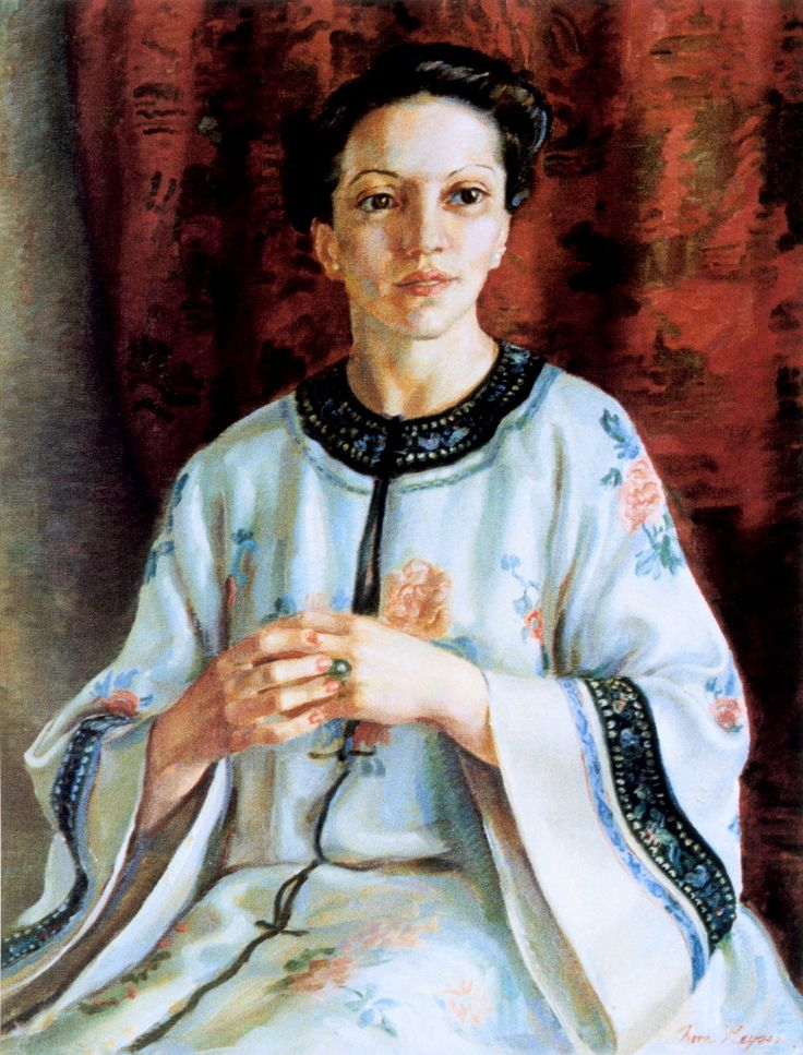 """""""Mme Elink Schuurman"""" - The painting that won Nora Heysen the Archibald Prize in 1938."""