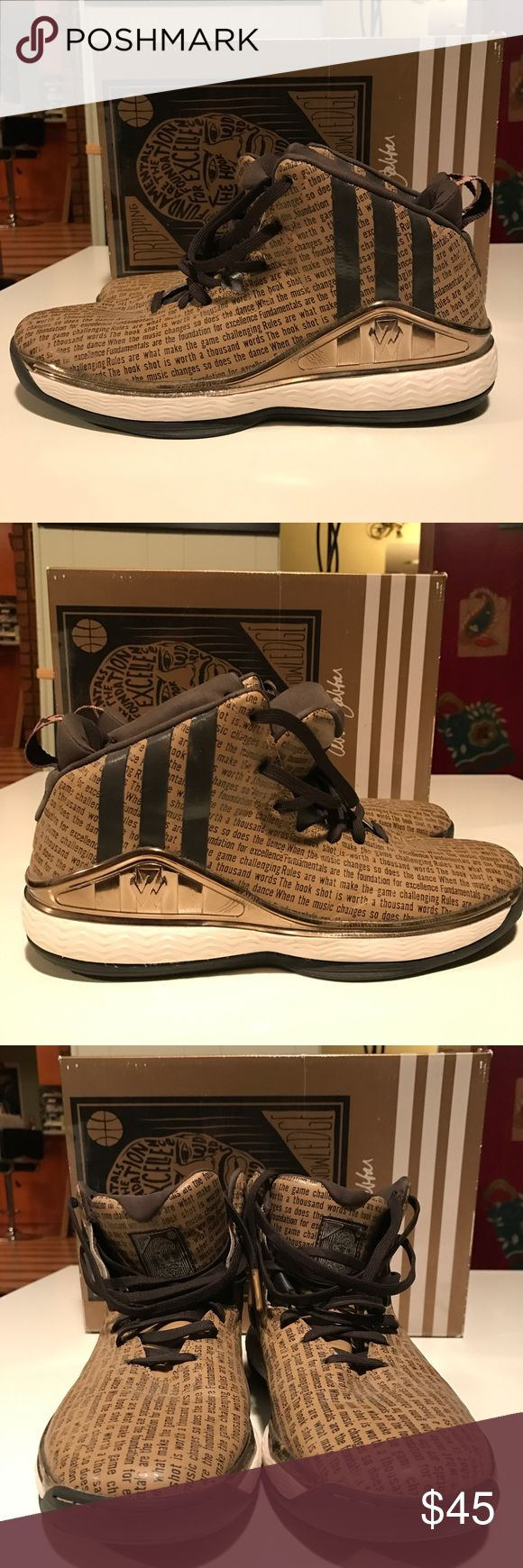 John Wall 1 BHM Size 9.5 9/10 Condition, great shoe to hoop in. Comes with Box. adidas Shoes Athletic Shoes