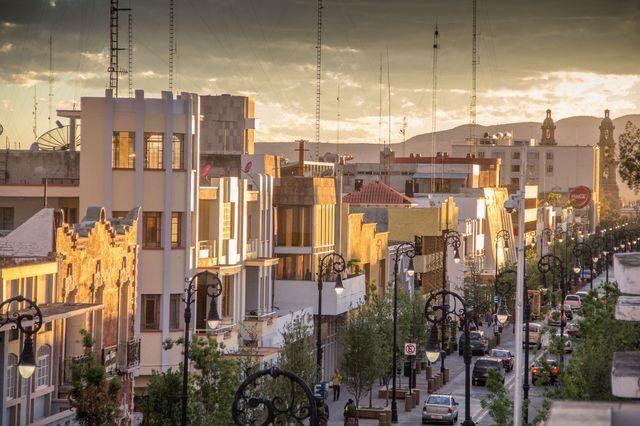 Calle Madero, centro Histórico, Aguascalientes México.
