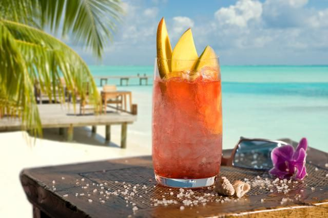 How About a Little Sex on the Beach (the Drink): Fill your glass with fruit and vodka and enjoy a little Sex on the Beach.