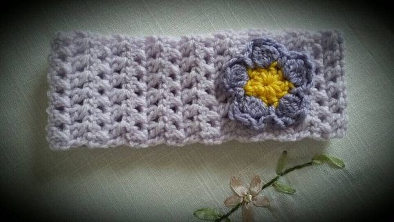 Girly headband with flower