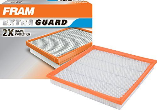 FRAM CA10989 Extra Guard Panel Air Filter - FRAM's Air Filters can increase airflow, horsepower, and improve overall engine performance, as well as provide better engine protection. Most dirt in your engine enters through your air filter, so install a clean air filter every 12,000 miles for the best results.