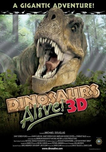 Dinosaurs Alive 3D Movie Poster 24x36