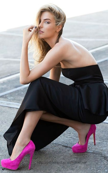 Jennifer Hawkins for JLH Shoe Campaign AW 2013 ♥ na