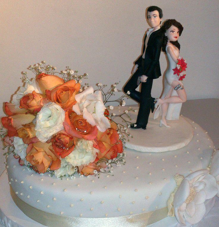 Torta y ramo