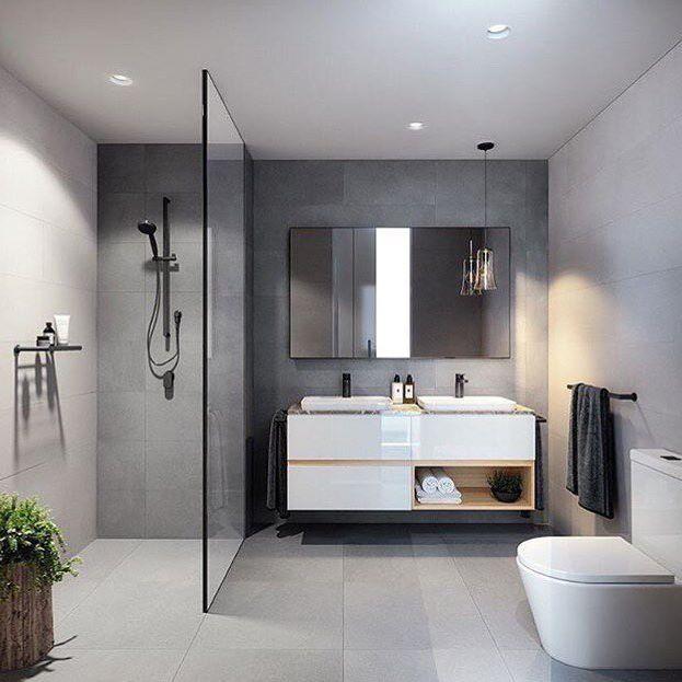 Gorgeous grey bathroom inspo by @bharchitects & @jackmerlodesign via @immyandindi . . . . . . . #inspostyle #inspodesign #inspodaily #instadesign #instadaily #instastyle #bathroom #bathroomdesign #bathroominspo #bathroominterior #interiors #interiorstyling #interiordesign #inspo #thestylishdesigns