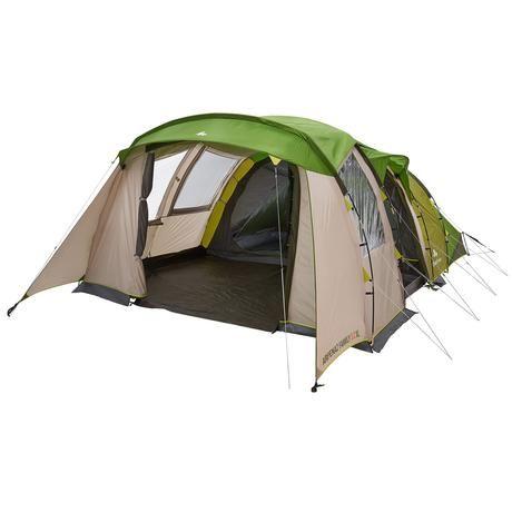 Tente de camping familiale arpenaz 5.2 xl | 5 personnes 2 grandes chambres
