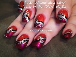 diva nail art  http://www.youtube.com/watch?v=QQOwIhCM1UA