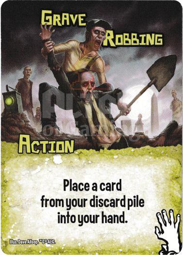 Grave Robbing - Zombies - Smash Up Card | Altar of Gaming