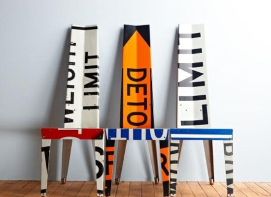 transit chairs by Boris Bally.