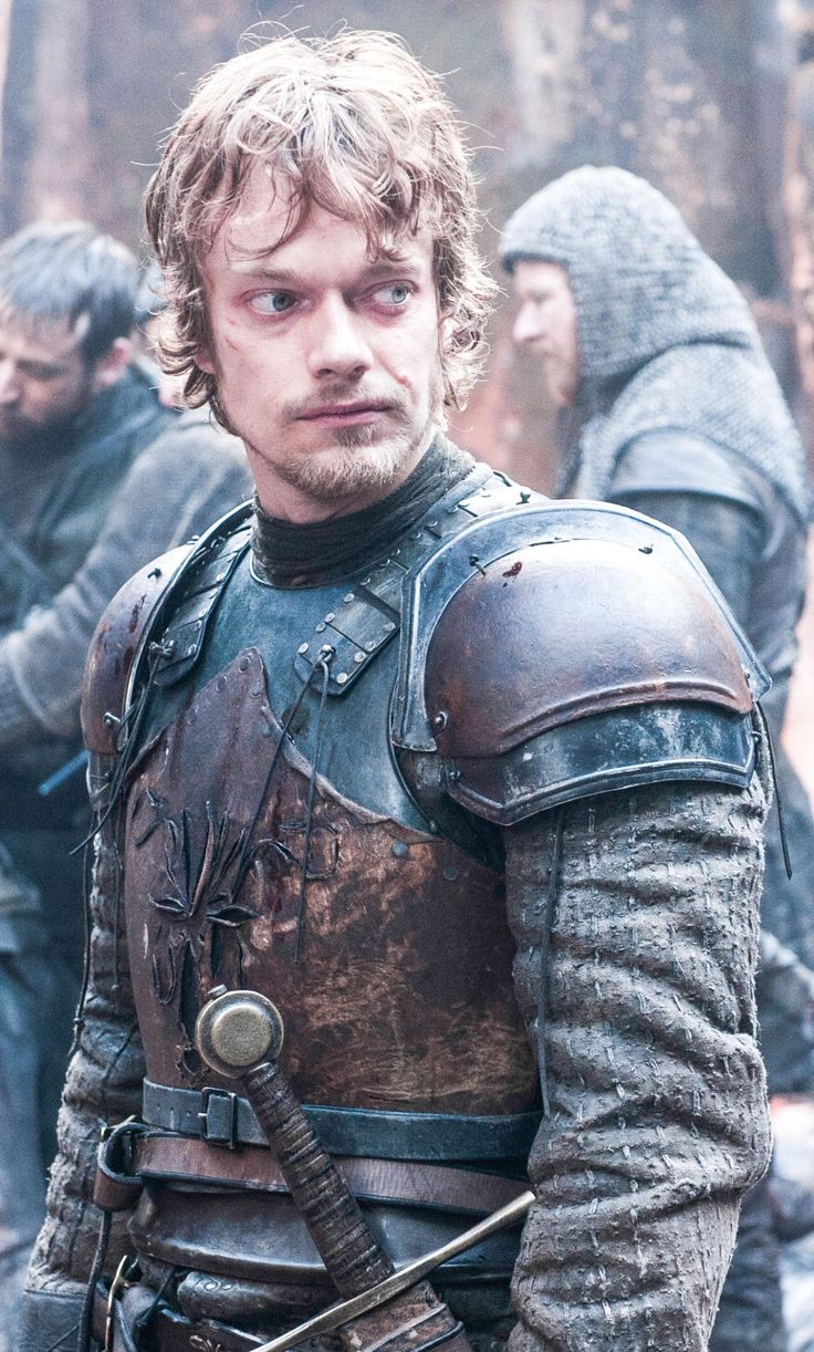 Theon...he betrayed the Starks...his own father betrayed him...he rescued Sansa...now he's back with his sister...so many fates for one man