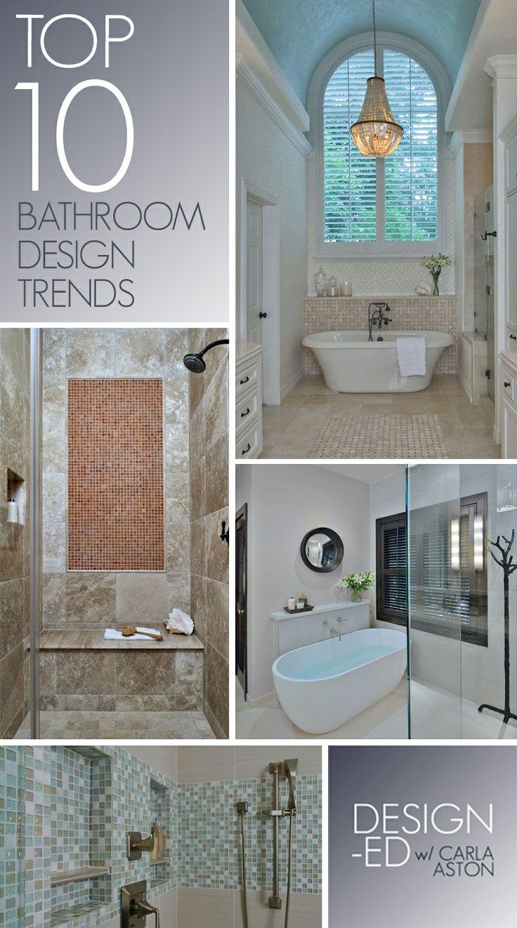 Top Bathroom Trends 2018: Top 10 Bathroom Design Trends, Guaranteed To Freshen Up