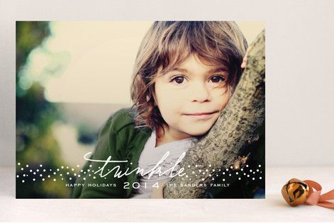 Sprinkles And Twinkles Christmas Photo Cards by SimpleTe Design at minted.com