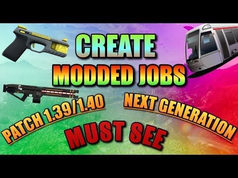 "GTA 5 Online - *NEW* *CONSOLES* ""CREATE A MODDED/HACKED JOB USING EASY GLITCHES"" - Patch 1.39/1.40 -  http://www.wahmmo.com/gta-5-online-new-consoles-create-a-moddedhacked-job-using-easy-glitches-patch-1-391-40/ -  - WAHMMO"