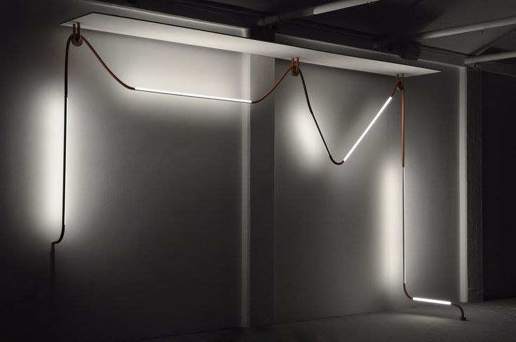 Mono-Light installation for Galerie Gosserez