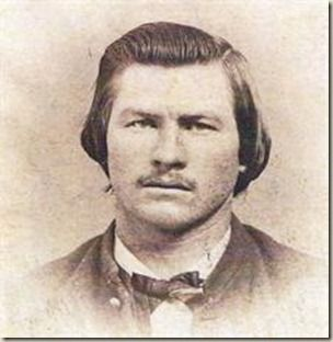 Virgil Walter Earp July 18, 1843 – October 19, 1905..rare photo he was 16. Virgil Earp was the older brother of Wyatt Earp and Tombstone   City Marshal at the time of the famous gunfight at the O.K. Corral in 1881. After suffering from pneumonia for six months, Virgil died in the town of Goldfield, Nevada. His remains were sent to Portland, Oregon at the request of his daughter Nellie Jane Bohn and   buried at the River View Cemetery, the state's oldest   nonprofit cemetery, dating back to…