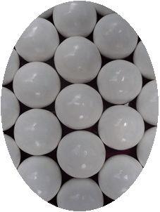 Kauwgombal wit