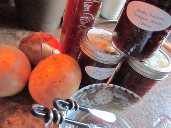 Honey Pickled #Beets by @sweetpeaspantry on Etsy, $5.00