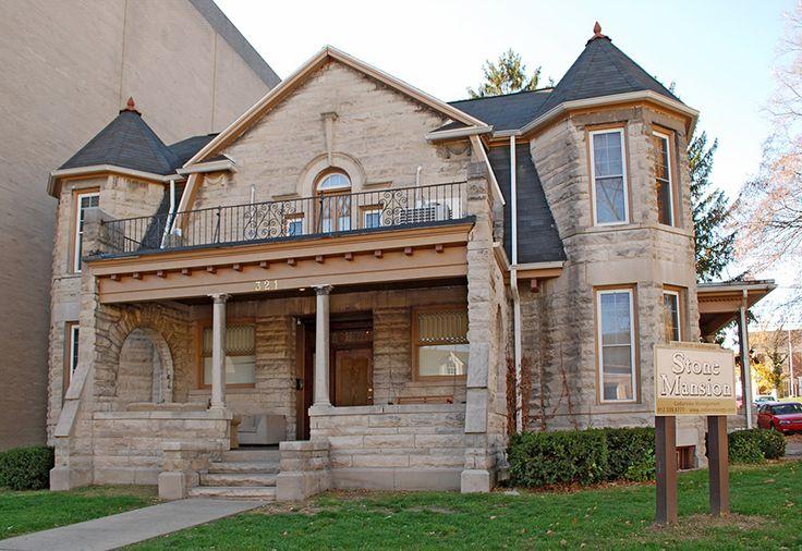 25 Best Stone Mansion Historic Rental House Bloomington