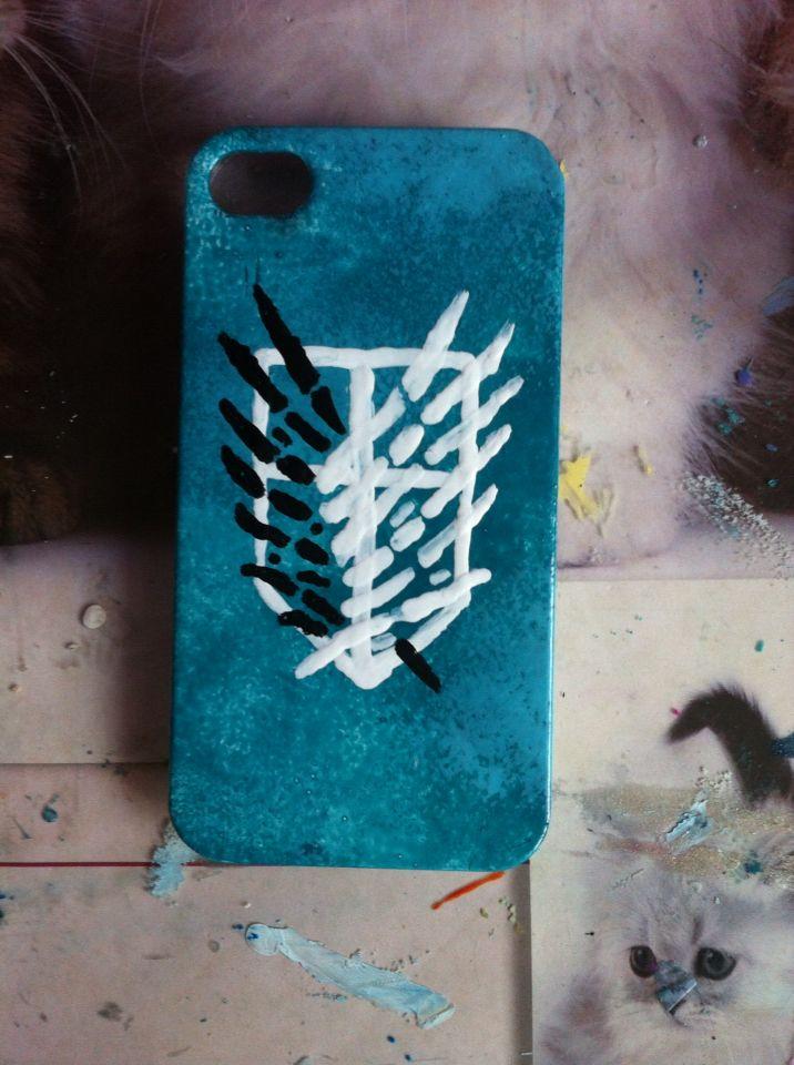 Snk handmade cover for mobile :)